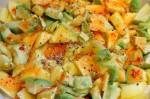 Avocado mangosalat med chilidressing - nem