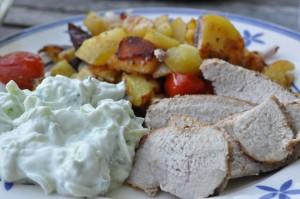 Tzatziki - nem opskrift med græsk yoghurt