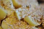 Pommes frites med sesam - sprøde sesam fritter