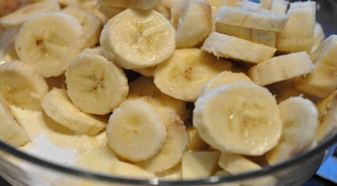 Frugtsalat med vanillecreme på 5 minutter