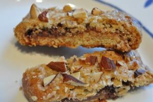 Biscotti med nutella - sprøde lækre småkager