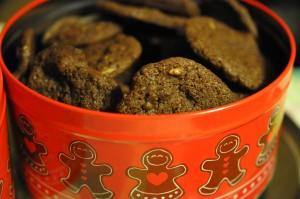 DSC 0151 300x199 Julemandens sprøde chokoladekager med farin
