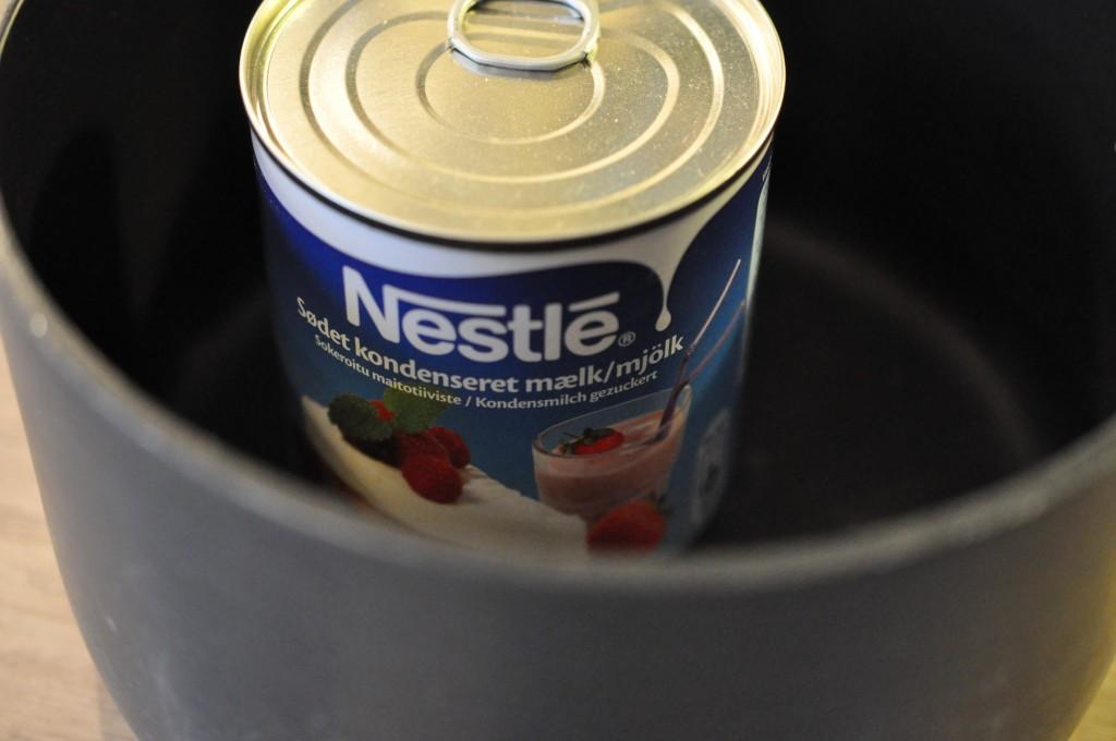 kondenseret chokolademælk