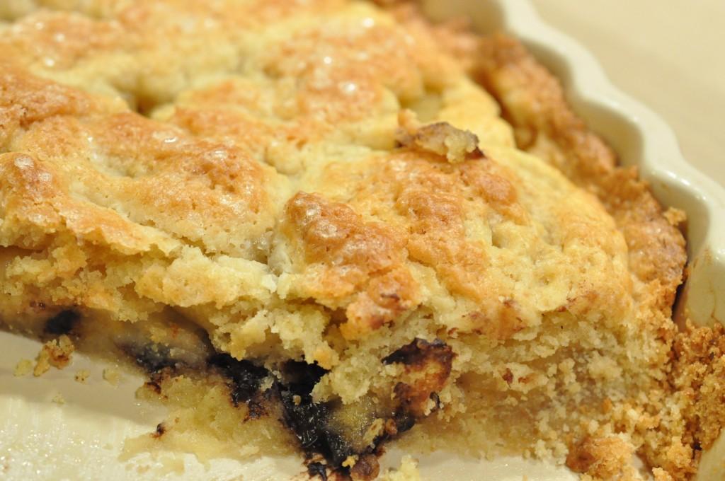 Smørbagt pæretærte med chokolade og marcipan | NOGET I OVNEN HOS BAGENØRDEN