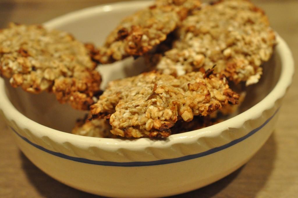 Banan cookies uden sukker fedtfattig opskrift