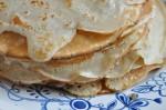 Pandekager - opskrift på nem pandekagedej