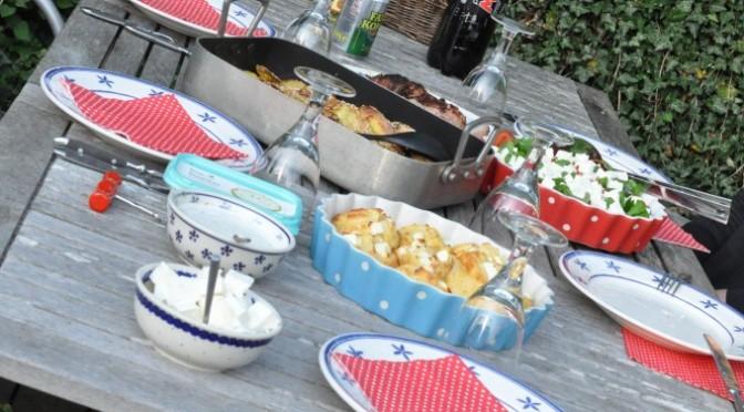 Grillet mørbrad med bacon og andre sommergrillerier