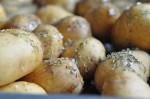 Kartofler - nemme ovnkartofler med timian