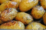 Kartofler – nemme ovnkartofler med timian