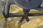 Bradepandekage med æbler og marcipan