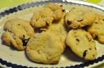 Blondie cookies med tranebær, hasselnødder og hvid chokolade