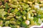 Salat med asparges & tranebær aspargessalat