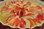 Æblekage med marcipan - nem æblemazarin