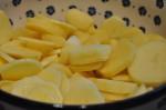 Flødekartofler cremede med forårsløg