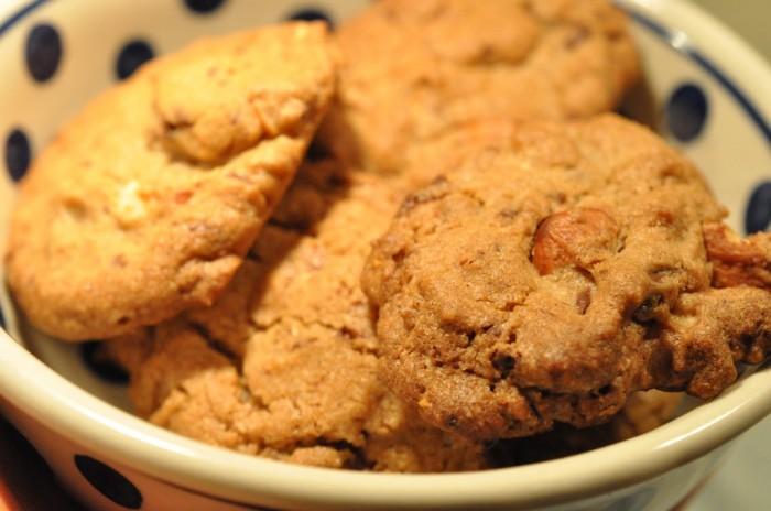 DSC 0100 700x464 Nemme sprøde julecookies med brunt sukker og brunt bagepulver