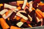 Bagte rodfrugter - opskrift på ovnbagte rodfrugter
