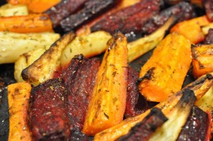 Rodfrugter - opskrift på ovnbagte rodfrugter