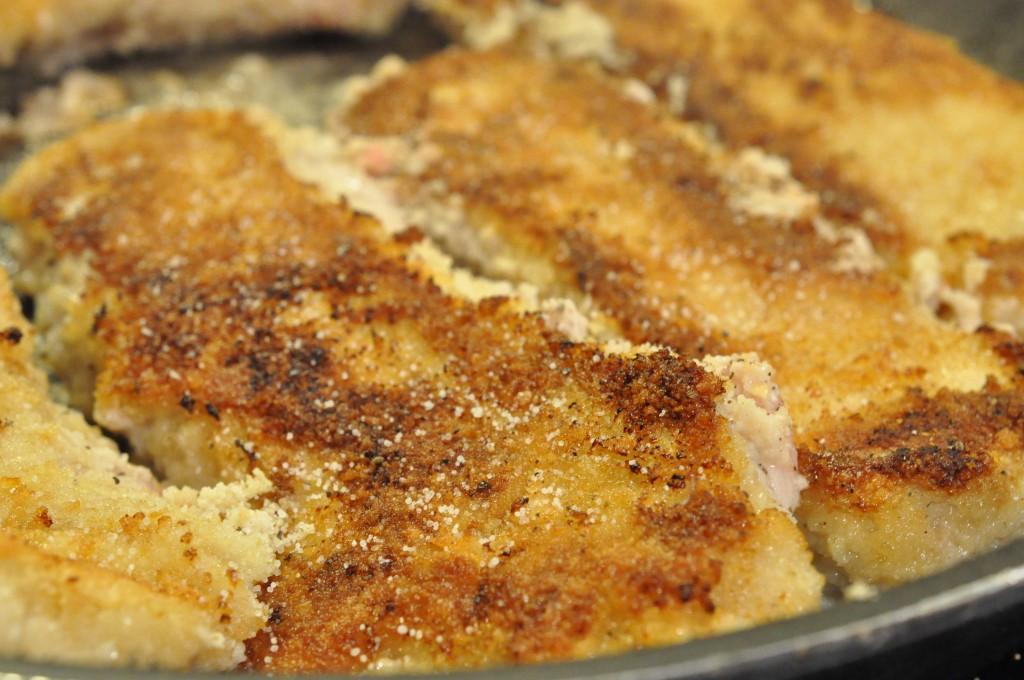 Wienerschnitzel bedste opskrift med ovnkartofler