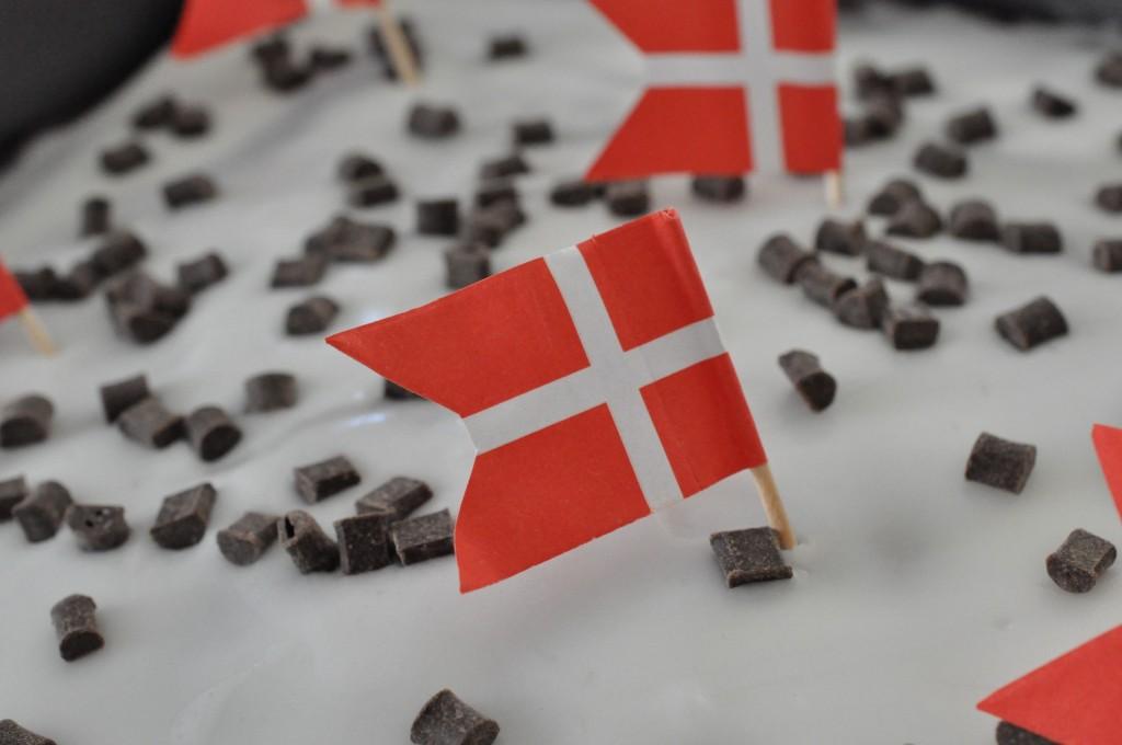 Svampet chokoladekage med skyr og chokoladechunks