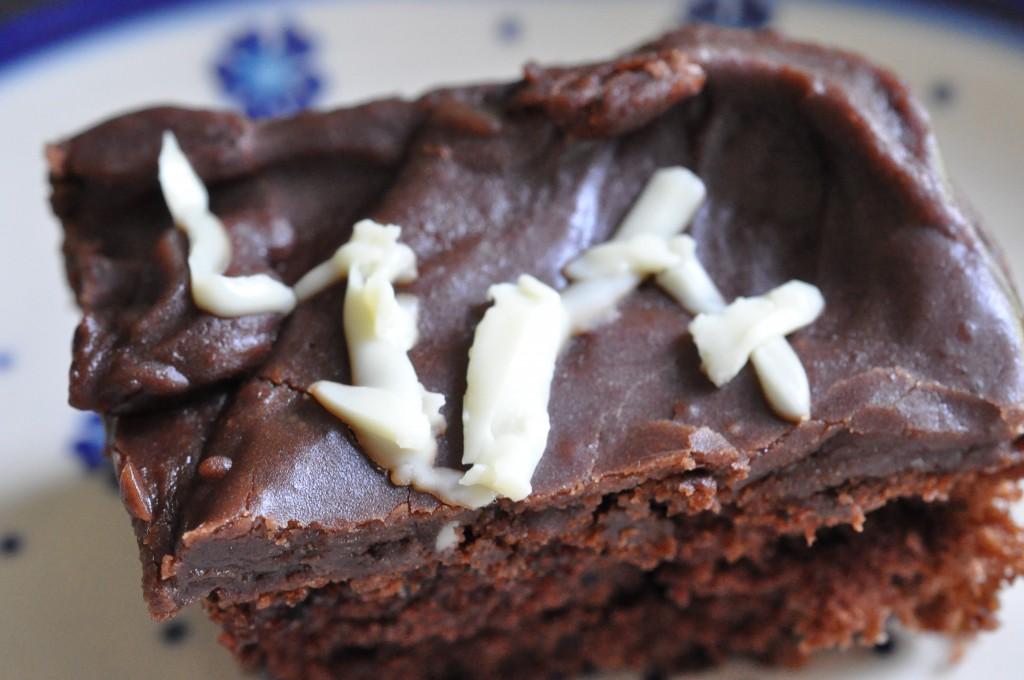 Chokoladekage nem stor bradepandekage