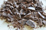 Grofthakket chokolade