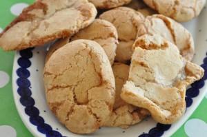 cookies med marcipan og mandler