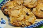 Cookies med tranebær, mandler og karamel