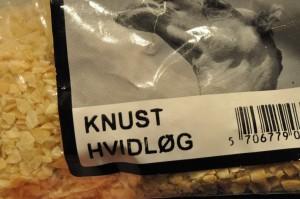 Madbrød med hvidløg og citronolie
