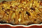 Pæretærte med nougat, mandler, marcipan og vaniljeskyr | NOGET I OVNEN HOS BAGENØRDEN
