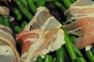 Grønne bønner med bacon - lækkert tilbehør