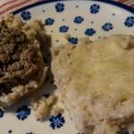 Bløde boller og franskbrød lavet af risengrøds- og ris a la mande-rester