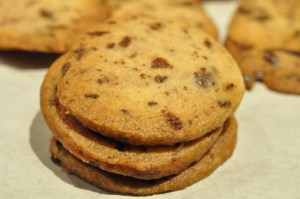 Smørbagte chokoladespecier med vanilje og salta