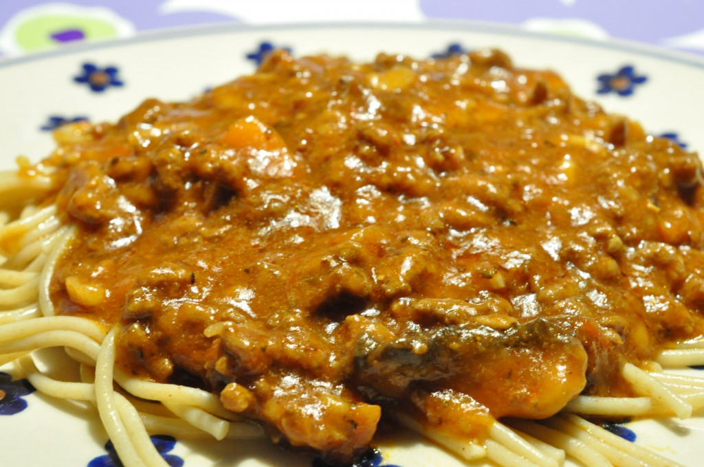 Spaghetti Bolognese - lækker smagfuld kødsovs til mange