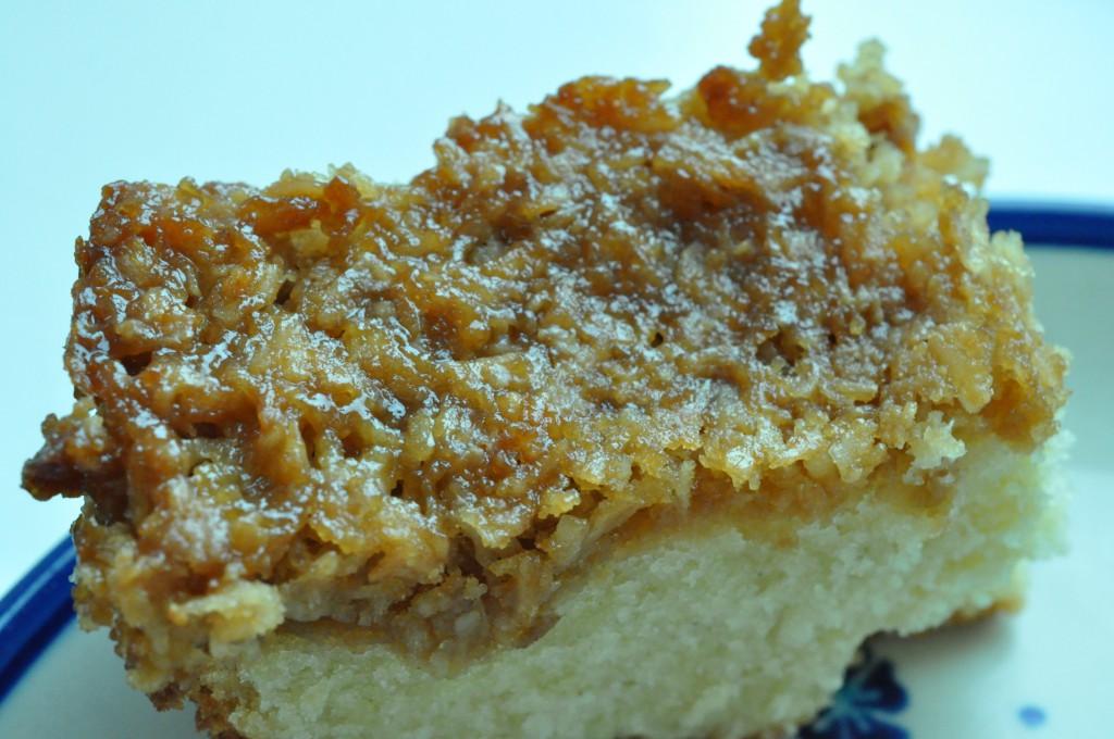 Drømmekage fra Brovst med marcipan - sød og særligt syndig