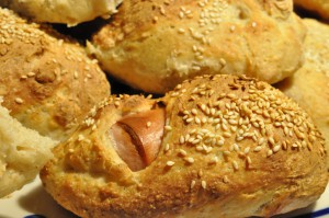 Frikadellesandwich og verdens bedste pølsehorn