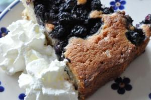 Lækker tærte med blåbær, marcipan og vaniljeprikker | NOGET I OVNEN HOS BAGENØRDEN