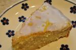 Svampet og syrlig citronkage - værtens bedste