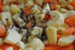 Mørbrad i baconsvøg og honning timian kartofler