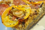 Lækre pepperonibrød af koldthævet dej