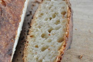 Verdens bedste brød med havregryn og honningnutella