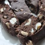 Lækre kakaobiscotti med hasselnødder – sukkerreducerede