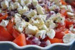 Tomatsalat med mozzarella