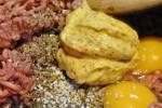 Farsbrød med oksekød bacon og ost - opskrift