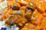 Lækker gullash af skært oksekød - ungarsk paprikagryde