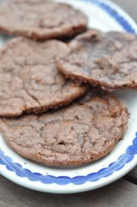 Hurtige Nutella cookies med hasselnødder
