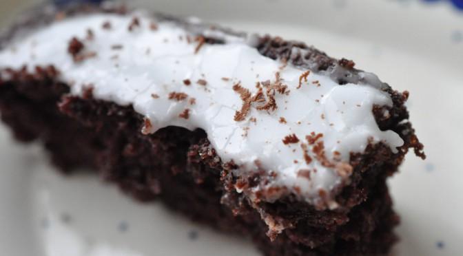 Verdens bedste chokoladekage – nem, svampet og lækker