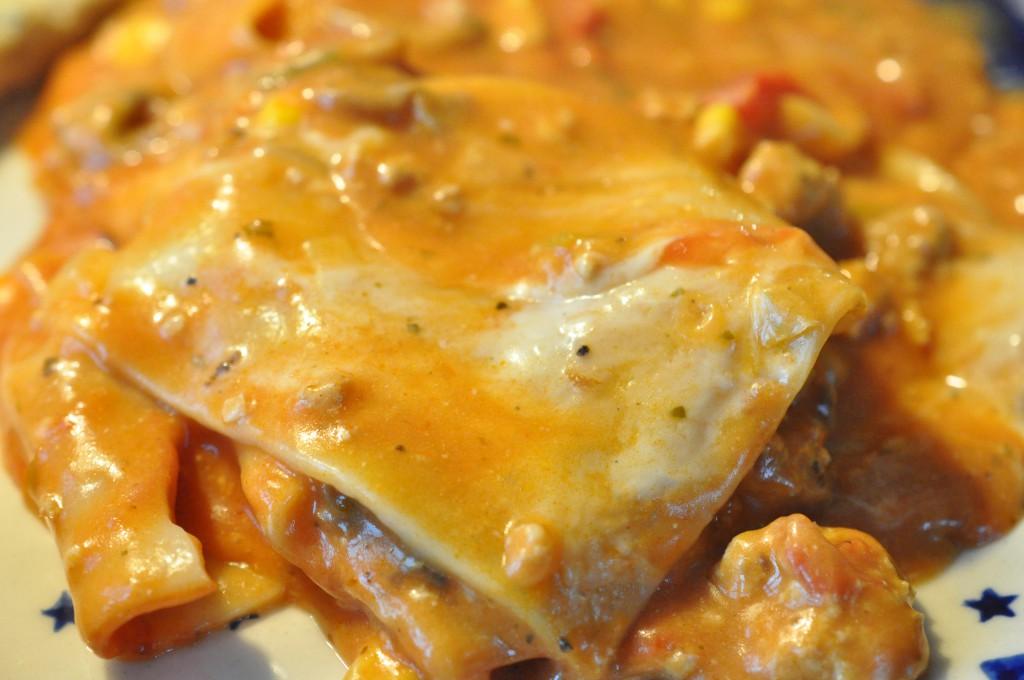 Hurtig nem lasagne med bechamel med