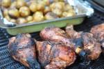 Bagenørden griller: lækre sprøde grillede kalkunlår