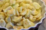 Lækker æblecrumble med farin og havregryn