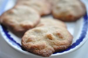 Sprøde smørbagte peanutcookies